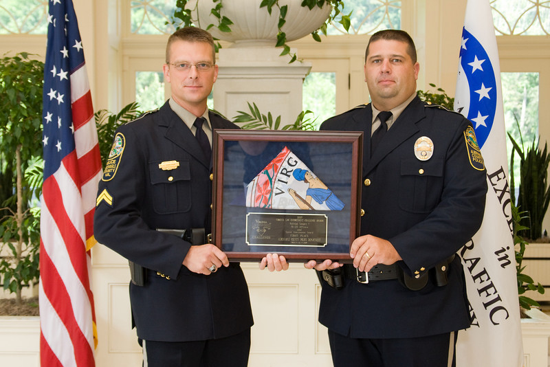 Municipal 5 (76-125 Officers), 1st place:<br /> Albemarle County Police Department