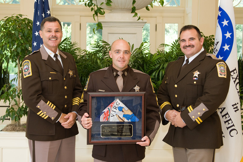 Sheriff 6 (126-300 Deputies), 1st place:<br /> Stafford County Sheriff's Office