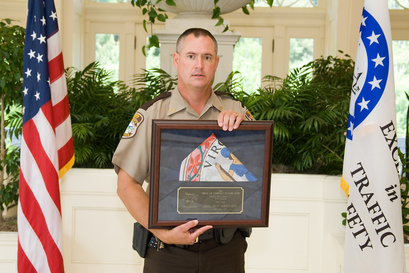 Sheriff 4 (51-75 Deputies), 1st place:<br /> Augusta County Sheriff's Office