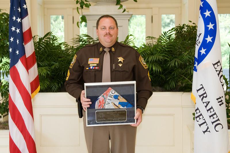 Sheriff 6 (126-300 Deputies), 3rd place:<br /> Spotsylvania County Sheriff's Office