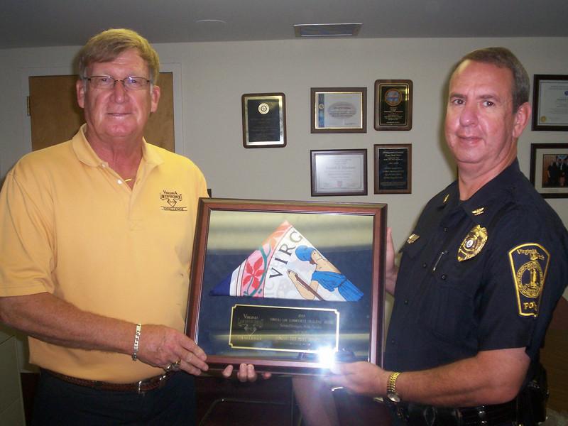 University, 1st place:<br /> Virginia Tech Police Department