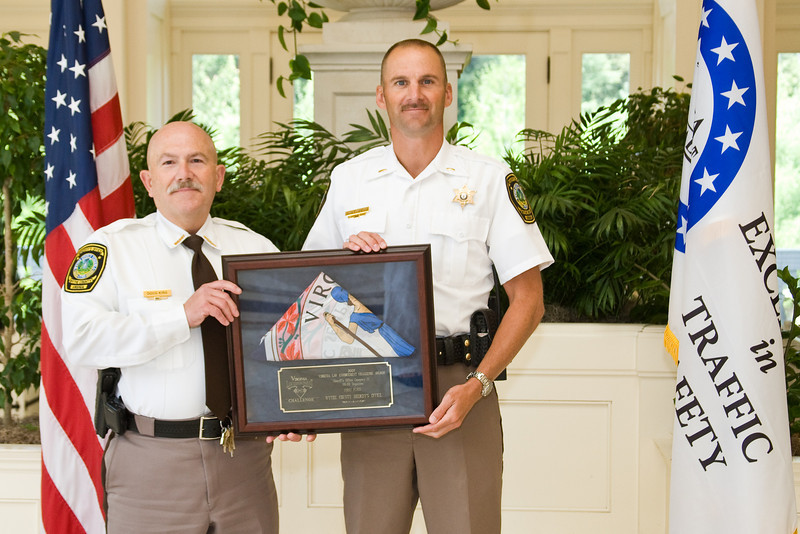 Sheriff 3 (26-50 Deputies), 1st place:<br /> Wythe County Sheriff's Office