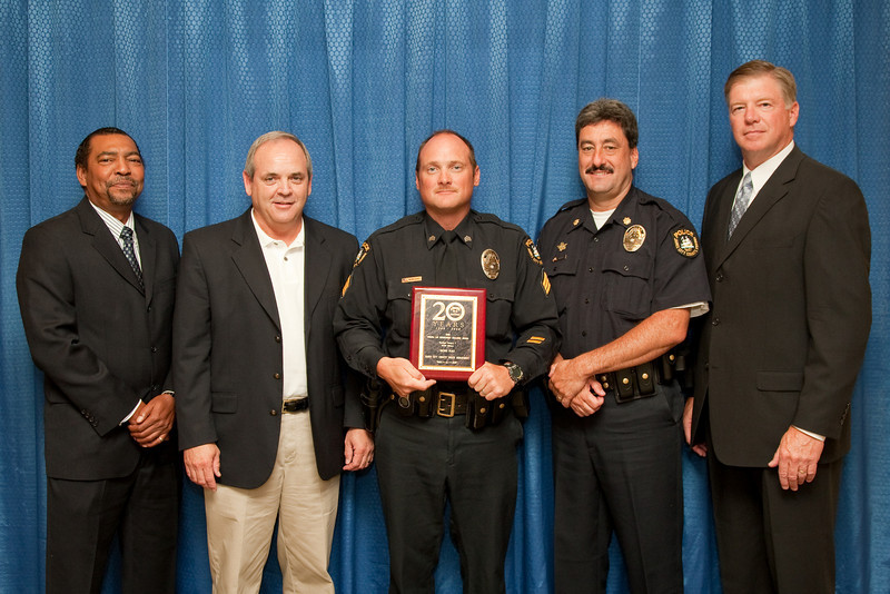2nd Place, Municipal 5 (76-125 Officers): James City County Police Department