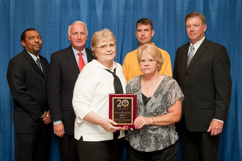 2nd Place, Municipal 7 (301-450 Officers): Newport News Police Department