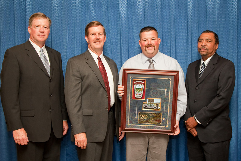 2008 Officer of the Year Award, for exceptional leadership in and dedication to the promotion of motor vehicle safety: Sgt. Chris Rinker, New Market Police Department