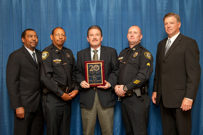 1st Place, Municipal 6 (126-300 Officers): Lynchburg Police Department