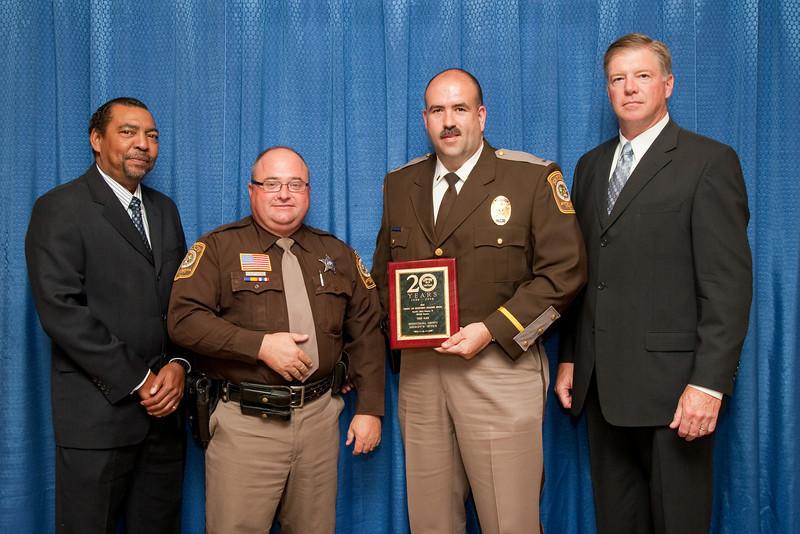 3rd Place, Sheriff 6 (126-300 Deputies): Spotsylvania County Sheriff's Office