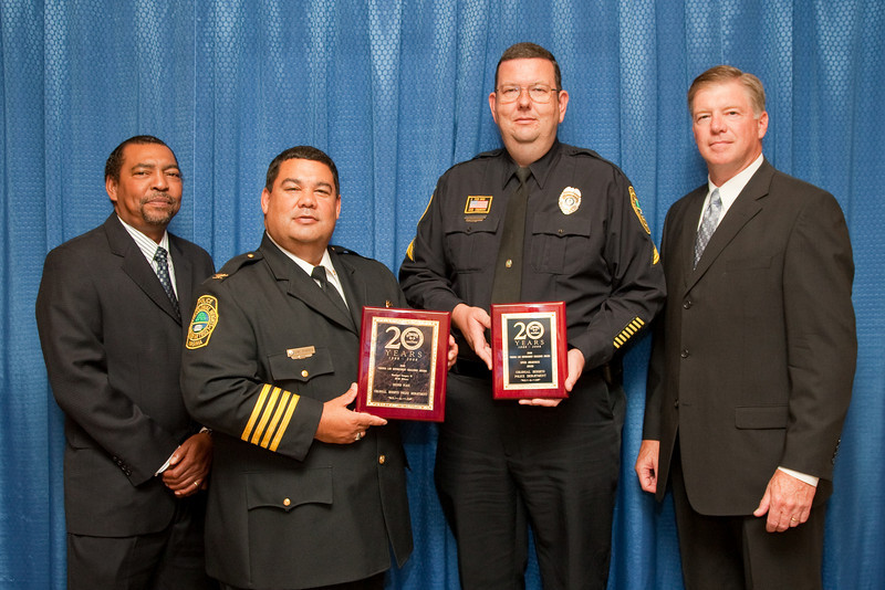 2nd Place, Municipal 3 (26-50 Officers), and Speed Awareness Award: Colonial Heights Police Department