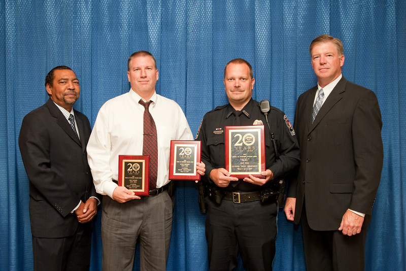 1st Place, Municipal 3 (26-50 Officers), and Bicycle/Pedestrian Safety Award and Child Passenger Safety Award: Culpeper Police Department
