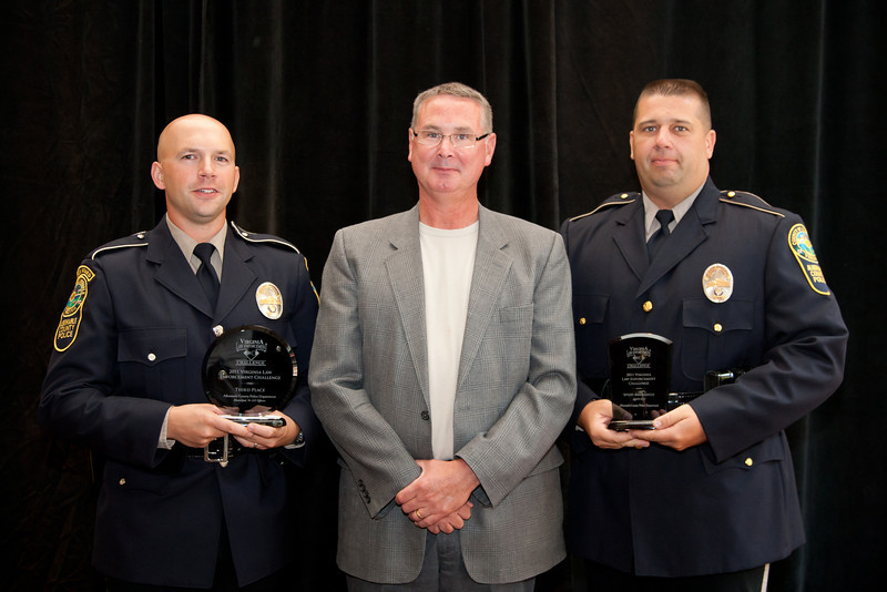 Third Place, Municipal 5 (76-125 Officers):<br /> Albemarle County Police Department<br /> -- Special Awards: Speed Awareness