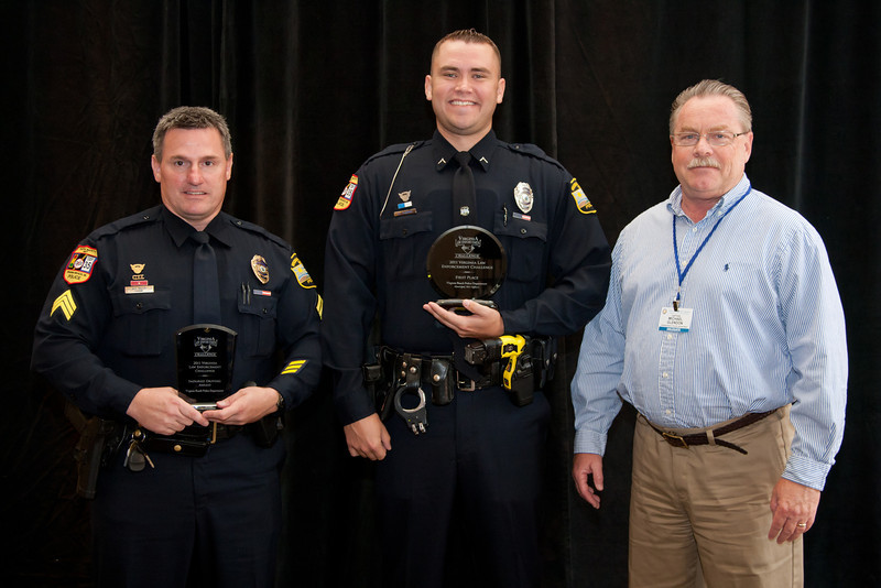 First Place, Municipal 8 (701 or more Officers):<br /> Virginia Beach Police Department<br /> -- Special Awards: Impaired Driving