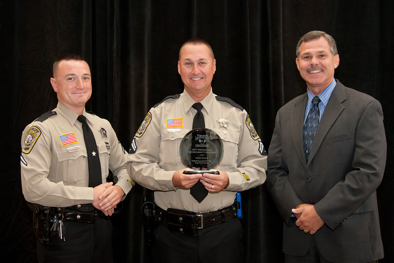 First Place, Sheriff 6 (126-300 Deputies):<br /> Stafford County Sheriff's Office