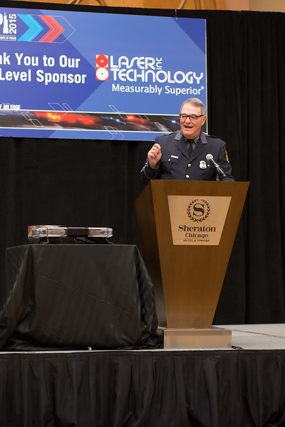 Virginia State Police Colonel Steve Flaherty, General Chair of IACP's State & Provincial Police Division