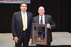 Sgt, Tim Wyatt, Roanoke County, VA Police Department, recipient of the 2015 J. Stannard Baker Award for Lifetime Contribution to Highway Safety
