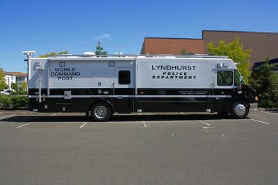 Lyndhurst  Police Dept.  (LDV) 5-7-10