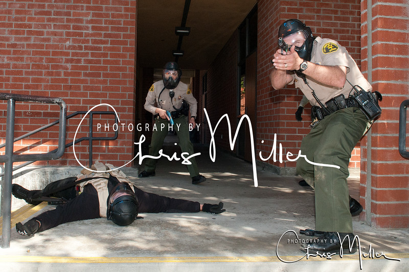 (329) Active Shooter Training Temple Station 3-17-14 by Chris Miller LASD
