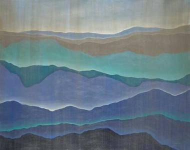 Silken Silhouette-Jardine, 50x40 canvas