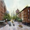 NYC Greens-Cates, 36x24