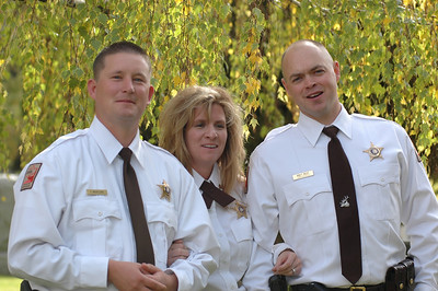 Officers Mickelsen, Jones and Riley.  Photo by Utah Division of Wildlife Resources