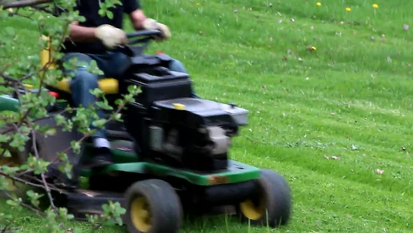 Lawn mowing and videos
