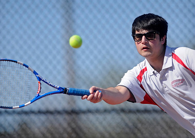 LA boys' tennis v. St. George's