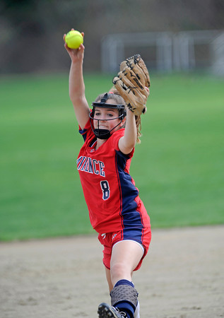 LA softball v. Middlesex