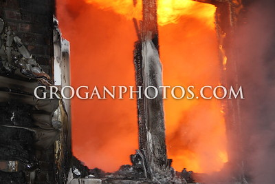 2nd Alarm House Fire 449 Bayview Ave 1/21/15