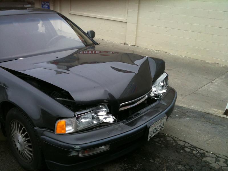 The Black Acura Bites it, Jan 7, 2011