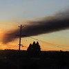 Fire at the Chevron Refinery, Richmond, CA  Aug 6, 2012