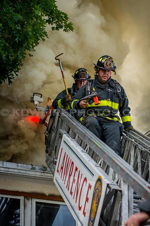 Lawrence, MA 3rd Alarm - 37-39 Oregon Ave - 6/27/16
