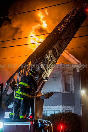 Lawrence, MA 3rd Alarm - 87-89 Saunders St - 12/24/16