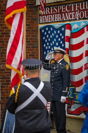 Lawrence Fire Department 9/11 Rememberance Ceremony - 9/11/18