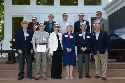 Olde Guarde Induction Ceremony