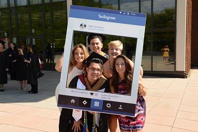 2015 College of Continuing Studies/Graduate Commencement