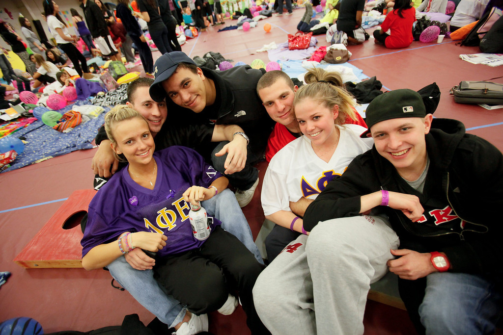 Taken during the Relay for Life at Rider University in Lawrenceville, N.J. March 26, 2011.
