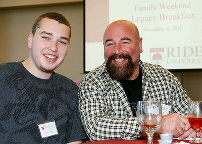Taken during Family Weekend at Rider University in Lawrence, N.J. Saturday, November 6, 2010. (Photo by Cie Stroud)
