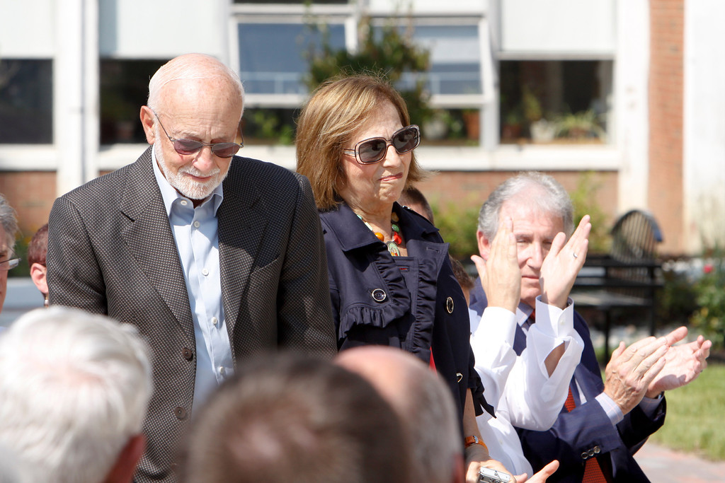 Taken during the dedication of North Hall at Rider University in Lawrenceville, N.J. September 13, 2011. (Photo by Cie Stroud)