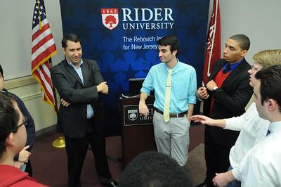 Rebovich Institute hosts Daniel Gross