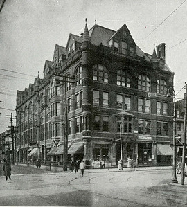 In 1885, Andrew J. Rider moved the Trenton Business School to larger quarters in the Masonic Temple at State and Warren Streets, where it remained until moving to the Ribsam Building on Broad and Front Streets in 1886.