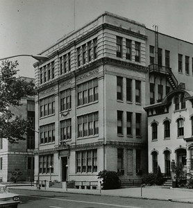 The original  library building for Rider College located in Trenton,  N.J.