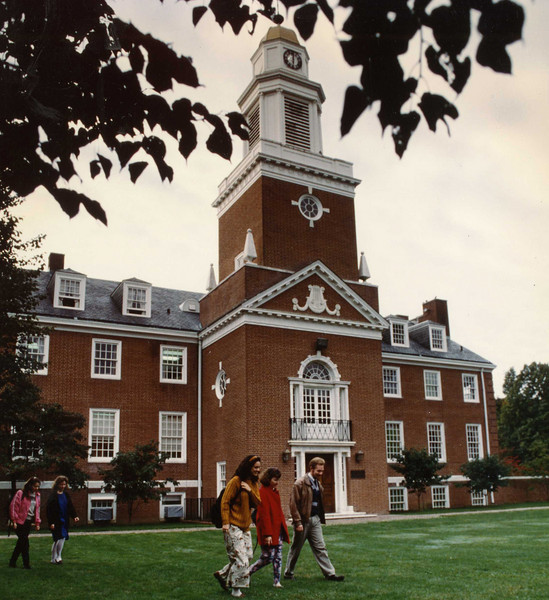 Williamson Hall on the Westminster Choir College campus in the early 1990s.