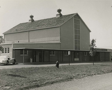 A view of the Arts Barn after renovations are completed.