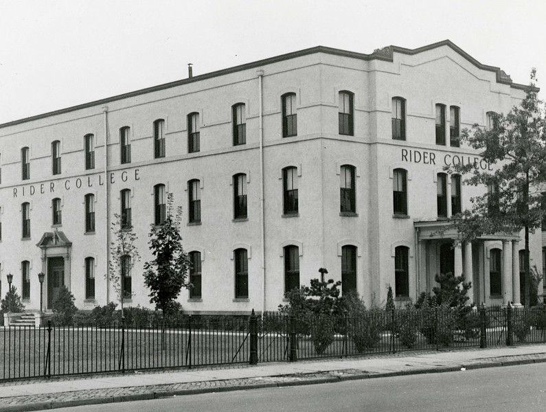 By 1921, Franklin B. Moore and John E. Gill had completed their plans to build their own building and the school moved to the new site. At the same time, they amended its incorporation to change the school's name to Rider College. In 1922, the N.J. state board of education granted Rider College permission to confer the degrees of Bachelor of Accounts and Bachelor of Commercial Science.