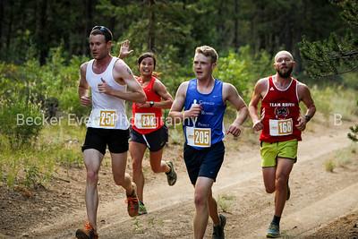 Half Marathon near mile 7