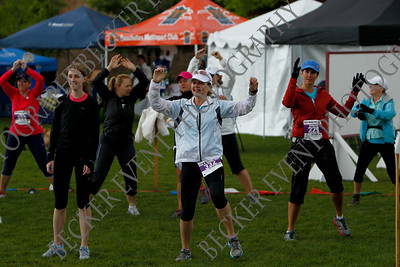 Happy Girls 5-26-13 Half Marathon Start/Warm-up