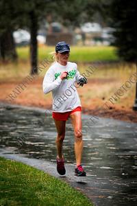 Half Marathon Finish 1st place - 02:11 Happy Girl Sisters