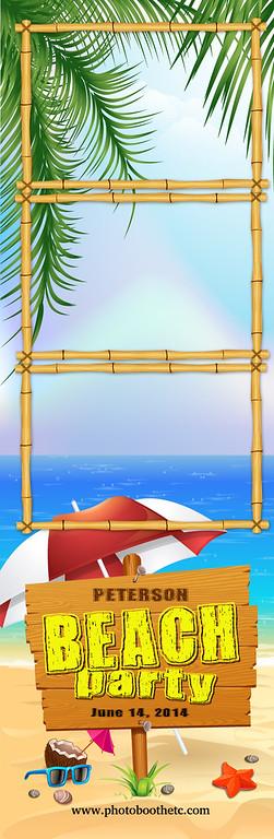 Beach Bash 3UP Strip