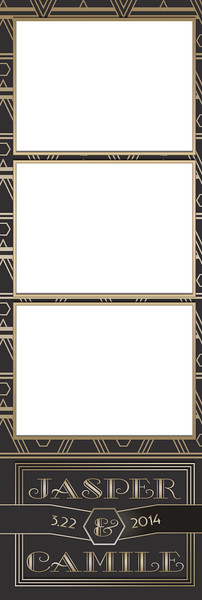 Art Deco Gold 3UP