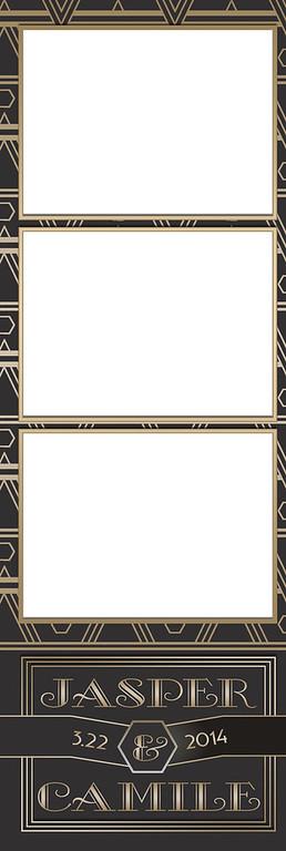 Art Deco Gold 3UP