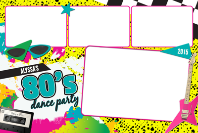 80s Party 4x6